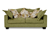 Americano Large 2 Seater Fabric Sofa, Sombre Green
