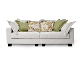 Americano Large 3 Seater Fabric Sofa, Linen White