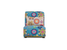 Bella Large Modular Fabric Armchair, Spring Blue